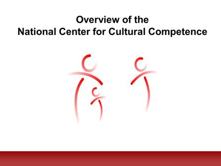 Overview of the National Center for Cultural Competence.