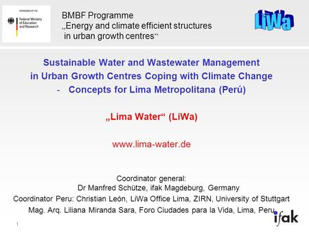 Sustainable Water and Wastewater Management