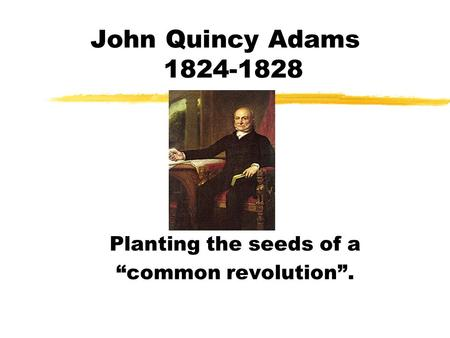 "Planting the seeds of a ""common revolution""."