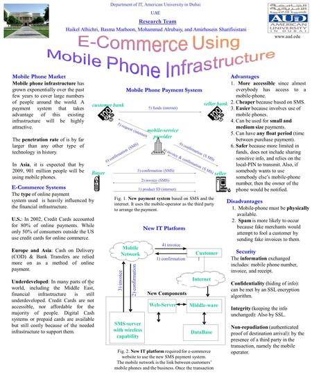 Department of IT, American University in Dubai UAE Mobile Phone Market Mobile phone infrastructure has grown exponentially over the past few years to cover.