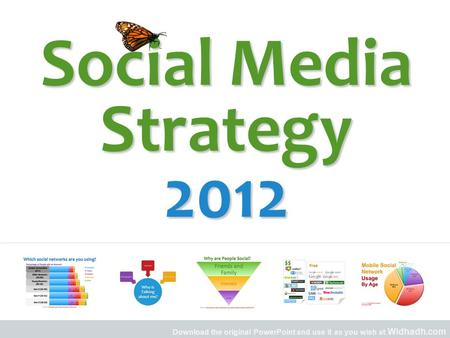 Download the original PowerPoint and use it as you wish at Widhadh.com Social Media Strategy 2012.