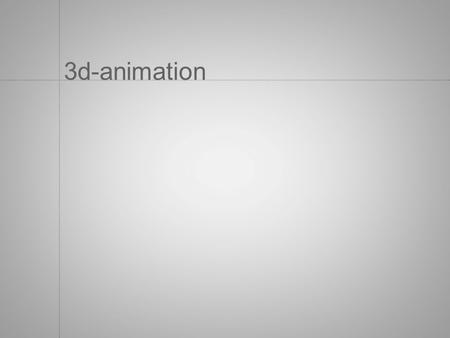 3d-animation. Wim van Eck Education: HKU (Design for Virtual Theatre and Games) Leiden University (Media Technology) Working at: KABK.