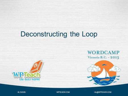 Deconstructing the Loop AL DAVIS WPTEACH.COM