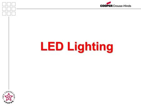 LED Lighting. 2 Agenda Introductions Introductions Lighting Definitions Lighting Definitions LEDs Benefits LEDs Benefits LED Luminaire Construction LED.
