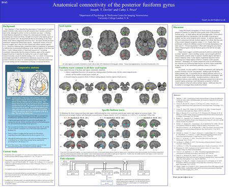 To determine the direct connections from each region, additional analyses were conducted using the grey matter seed regions as exclusion masks. This allowed.