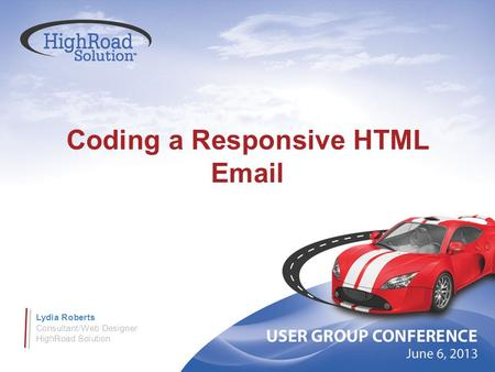 Coding a Responsive HTML