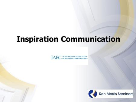 Inspiration Communication