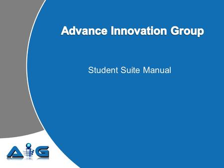 Student Suite Manual. Getting Started – Login Instructions Type the Enrollment ID Type the Password.