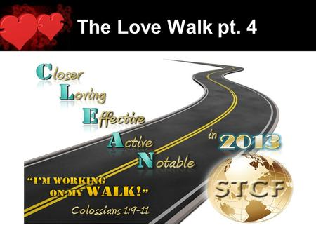 The Love Walk pt. 4. Loves Role in the Journey: The Needy Trap.