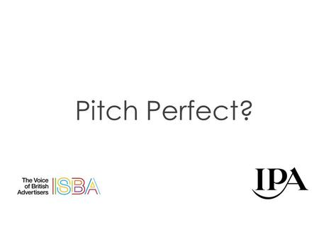 Pitch Perfect?. Don Drapers pretty good at it.