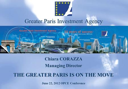 THE GREATER PARIS IS ON THE MOVE