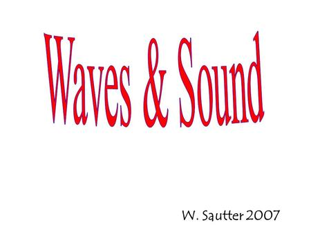 W. Sautter 2007. These are also called Compressional Waves.