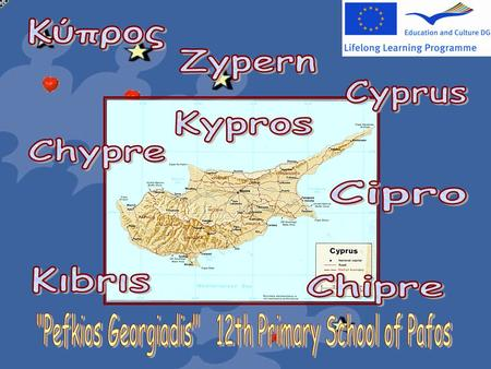 Cyprus is an island in the eastern Mediterranean Sea, where East meets the West. It was established as an independent republic in 1960. It is the third.