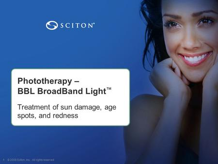 Phototherapy – BBL BroadBand Light™