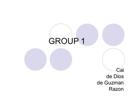 GROUP 1 Cai de Dios de Guzman Razon. Styles Coordinate Balanced Ideas The time had come, however, and so we went to the marriage commissioner in the.
