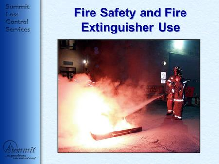 Fire Safety and Fire Extinguisher Use. We Will Discuss: Workplace Fire Statistics Workplace Fire Prevention How Does A Fire Work? Classes of Fire Extinguishers.