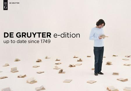 2 De Gruyter e-dition The biggest eBook Program of the World More than 50,000 publications from over 260 years of publishing history Publishing Houses.