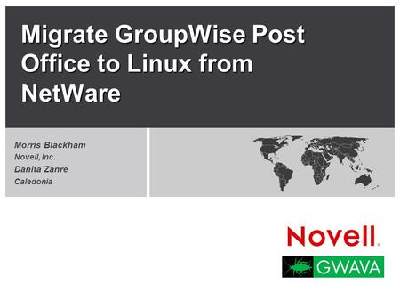 Migrate GroupWise Post Office to Linux from NetWare