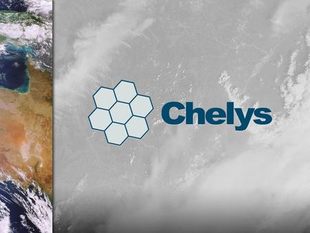 About Chelys About Chelys About Chelys Software development and integration for the space sector since 1996 Service provider for some of the most important.