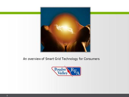 1 An overview of Smart Grid Technology for Consumers.