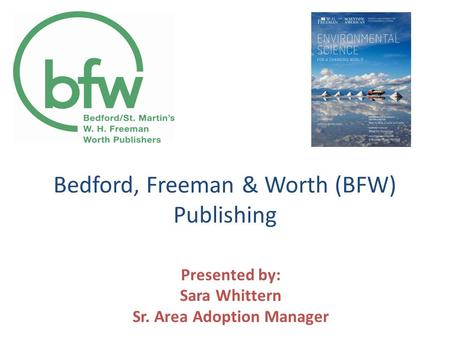 Bedford, Freeman & Worth (BFW) Publishing