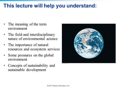 This lecture will help you understand: