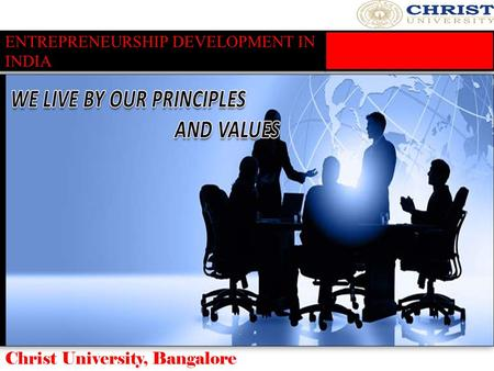 ENTREPRENEURSHIP DEVELOPMENT IN INDIA
