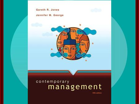 Managers and Managing McGraw-Hill/Irwin Contemporary Management, 5/e Copyright © 2008 The McGraw-Hill Companies, Inc. All rights reserved. chapter one.
