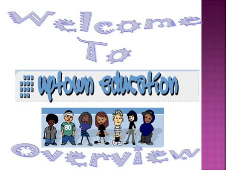Uptown Education is an educational software application with a young, hip-hop theme. The software provides students with an effective learning environment.