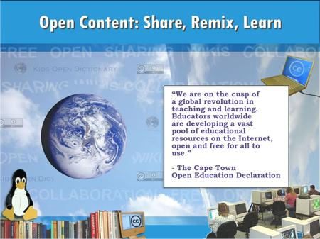 Session Resources Presentation www.tinyurl.com/k12open www.tinyurl.com/k12open More info www.k12opened.com www.k12opened.com.