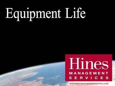 Www.hinesmanagementservices.com. The hidden costs of operating expenses: Capital Expenditures 23 years = ASHRAE standard life expectancy of centrifugal.