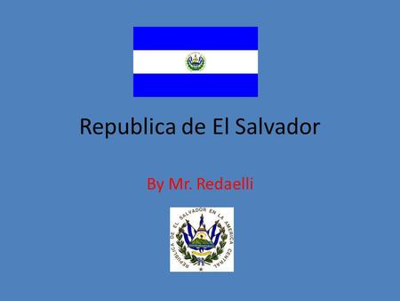 Republica de El Salvador