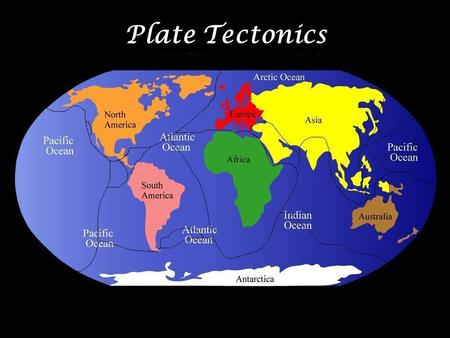 Plate Tectonics. The youngest material on the ocean floor is found where plates move apart. On which of the following structures is it usually found?