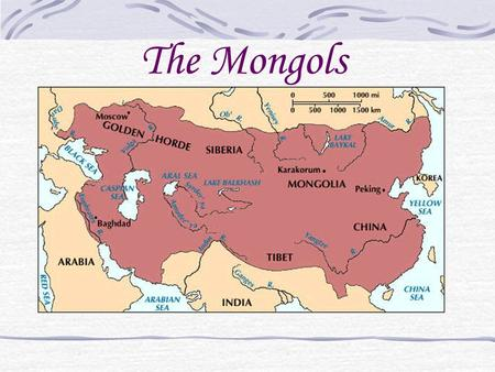 The Mongols. Genghis Khan Born with the name Temujin and received the title Genghis Khan or universal ruler of the Mongolian clan Conquered most of Asia.