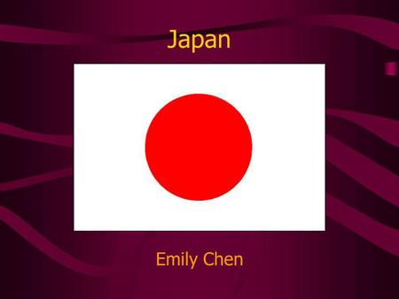 Japan Emily Chen. Japans Geography Archipelago: chain of islands Japan is located in the Ring of Fire. Frequent earthquakes and volcanic eruptions Tsunamis.