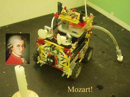Mozart!. TEAM MOZART Alex Bostandjiev - Computer Engineer Ivan Dryanovski - Electrical Engineer Bob Lynch - Project Manager Dr. Ken Krebs - Faculty.