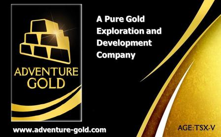 Adventure-gold.com A Pure Gold Exploration and Development Company www.adventure-gold.com.