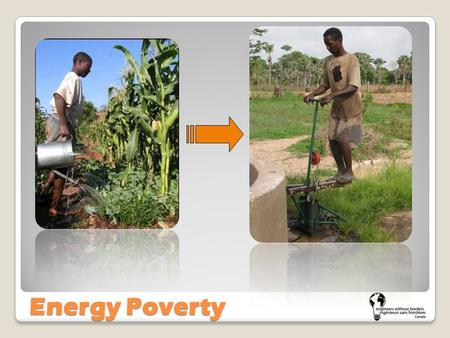 Energy Poverty. Energy Poverty Cycle Energy Activity Get an education to escape the energy poverty cycle! You must complete every step in order Use.