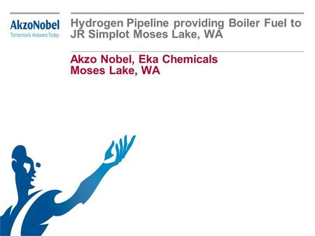 Akzo Nobel, Eka Chemicals Moses Lake, WA