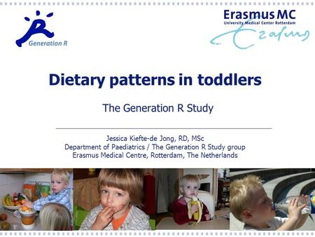 Dietary patterns in toddlers