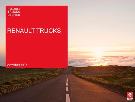 RENAULT TRUCKS OCTOBER 2010.