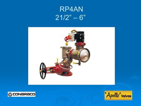 RP4AN 21/2 – 6. Modification Overview Production of the RP4AN series began in 2008. Production of the RP4AN series began in 2008. The 4AN indicates an.
