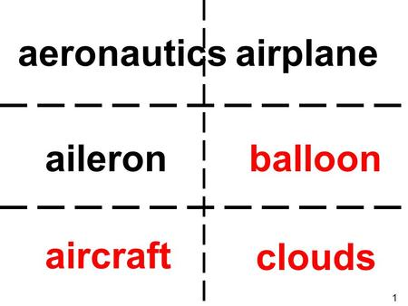 Aeronautics airplane aileron balloon aircraft clouds 1.