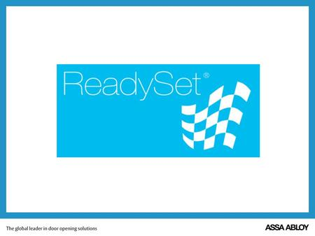 What is ReadySet? This is not! What is ReadySet? This is ReadySet!