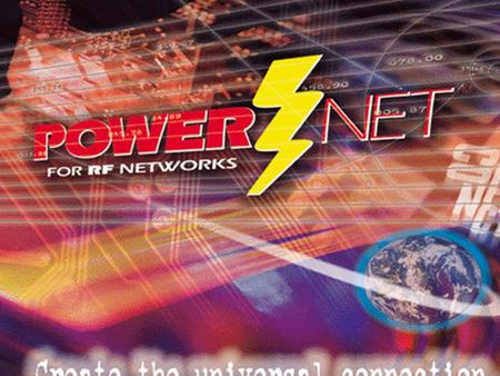1 POWER Net PowerNet TITLE Screen. 2 POWER Net IntroductionIntroduction Connect, Inc. is the leading supplier of wireless network and process control.