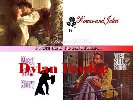 romeo and juliet/ west side story compare and contrast essay Romeo and juliet/ west side story compare and contrast i recently finished reading romeo and juliet, as well as west side storyas i read i noticed various things which were similar between the two stories.