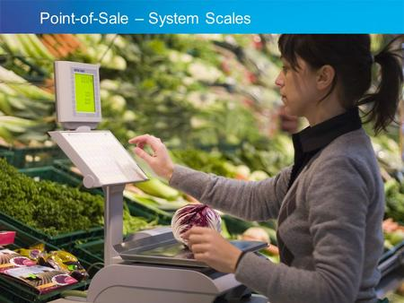 Introducing bPro. A Visser Sales International Point-of-Sale – System Scales.