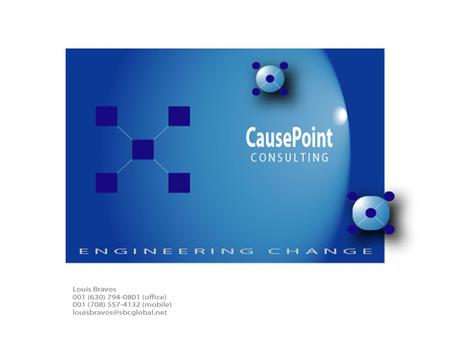 ENGINEERING SUCCESSFUL TRANSITIONS. Page 2 2006 Introduction to CausePoint Outline Introduction to CausePoint Problems in Software and IT Service Delivery.