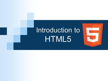 Introduction to HTML5. History of HTML HTML first published 1991 2012 2002 - 2009 2000 HTML 2.0 HTML 3.2 HTML 4.01 XHTML 1.0 XHTML 2.0 HTML5 1995 1997.
