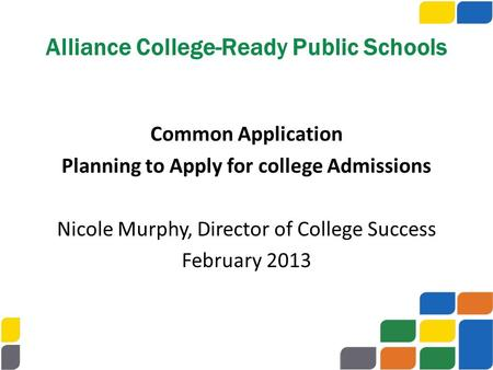 Alliance College-Ready Public Schools